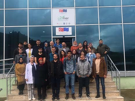 Üniversitemizin Organik Tarım ve Çay Tarımı İşleme Teklonojisi Bölümünün  Ziyareti