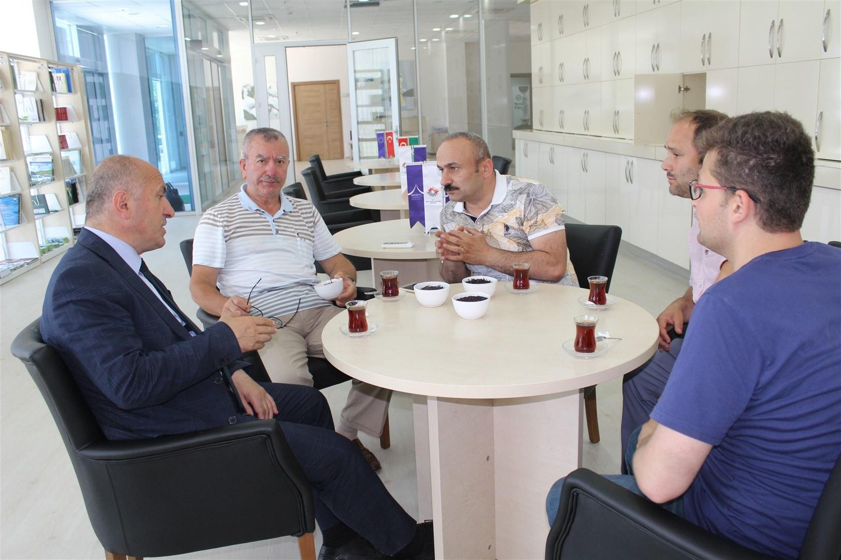 Çayeli belediye başkanımız sayın İsmail Hakkı ÇİFTÇİ  tesisimize ziyarette bulundu.