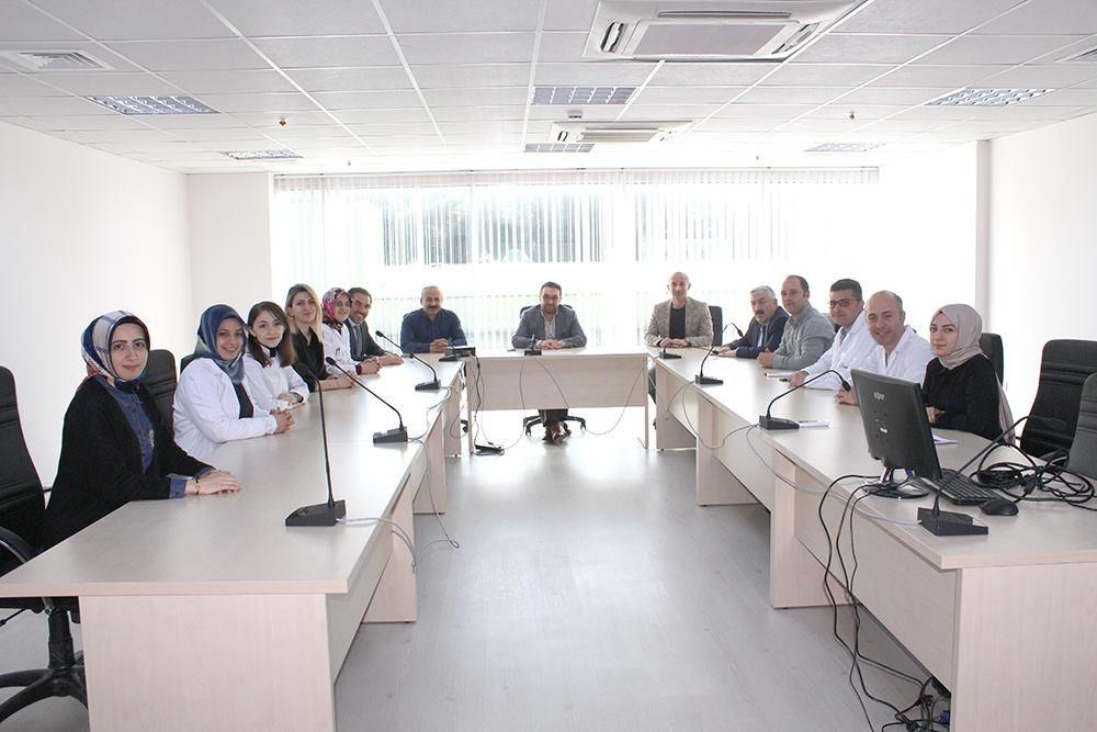 Rize Ticaret Borsası Yönetim Kurulu Başkanı Mehmet ERDOĞAN Kurumumuza Ziyarette Bulundu.